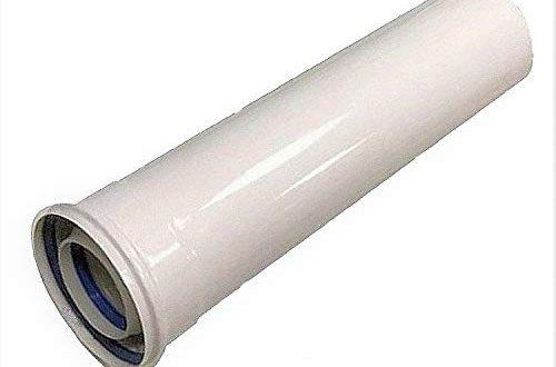 uzman versand 1000mm konzentrische luft abgasrohr o 80 125 mm innen kunststoff pp aussenrohr aus verzinktem stahl weiss lackiert dn80 125 abgas rohr abgassystem brennwert 500x330 - Uzman-Versand 1000mm Konzentrische Luft-/Abgasrohr Ø 80/125 mm, Innen Kunststoff PP/Außenrohr aus verzinktem Stahl weiß lackiert. DN80/125 Abgas-Rohr Abgassystem Brennwert,