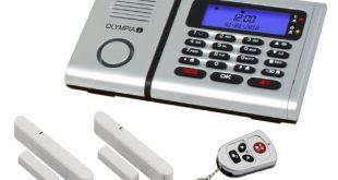 Olympia 5901 Protect 6030 Drahtlose Festnetz Alarmanlage mit Notruf und 310x165 - Olympia 5901 Protect 6030 Drahtlose Festnetz Alarmanlage mit Notruf und Freisprechfunktion, App Steuerung mit ProCom App, silber