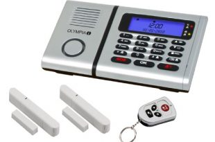 Olympia 5901 Protect 6030 Drahtlose Festnetz Alarmanlage mit Notruf und 310x205 - Olympia 5901 Protect 6030 Drahtlose Festnetz Alarmanlage mit Notruf und Freisprechfunktion, App Steuerung mit ProCom App, silber