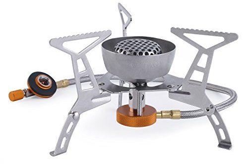 OUTAD Windschirm wuetenden Feuer Faltbarer Camping kocher ohne Piezozuendung 500x330 - OUTAD Windschirm wütenden Feuer Faltbarer Camping-kocher ohne Piezozündung